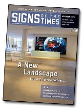 signs pf the times magazine article on Sign Design and Fabrication